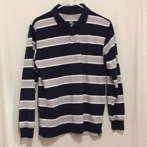 Faded Glory Boys striped blue/grey long sleeve